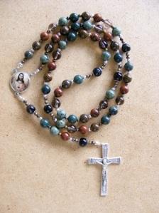 Kambaba Jasper Rosary #41